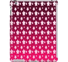 Pink Star Fantasy Gradient Pattern  iPad Case/Skin