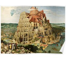 Pieter Bruegel Tower of Babel Poster
