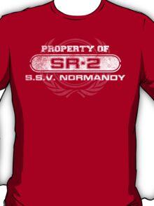 Naval Property of SR2 T-Shirt