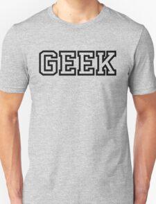 Geek in Greek Style Shirt Unisex T-Shirt