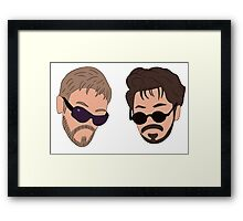 Andy Samberg, Justin Timberlake, Saturday Night Live - Dick in a Box Framed Print