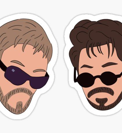 Andy Samberg, Justin Timberlake, Saturday Night Live - Dick in a Box Sticker