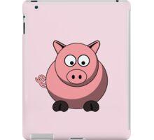 Cartoon Pig iPad Case/Skin