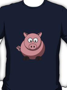 Cartoon Pig T-Shirt