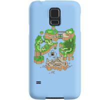 Super mario world map Samsung Galaxy Case/Skin