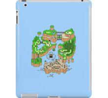 Super mario world map iPad Case/Skin