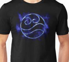 Marble Waterbending Symbol Unisex T-Shirt