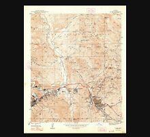 USGS TOPO Map Arizona AZ Globe 311500 1945 24000 Unisex T-Shirt