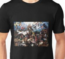 Pieter Bruegel The Fall of the Rebellious Angels 1562 Unisex T-Shirt