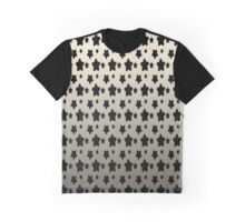 Metallic Hocus Pocus Stars Gradient Pattern Graphic T-Shirt