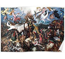 Pieter Bruegel The Fall of the Rebellious Angels 1562 Poster