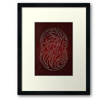Seal of Two Worlds Framed Print