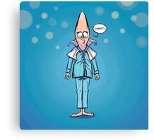 """Saturday Night Legends Featuring """"Coneheads"""" Canvas Print"""