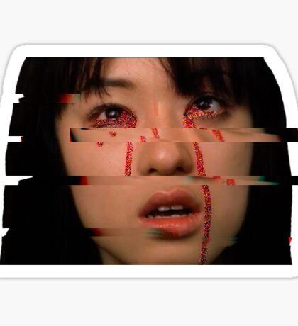 Gogo Yubari Glitch  Sticker