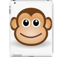 A funny monkey face iPad Case/Skin