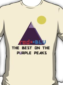 Red-Blu: The Best on the Purple Peaks T-Shirt
