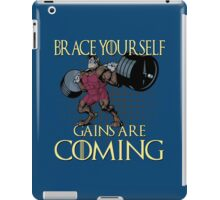Gains are Coming iPad Case/Skin