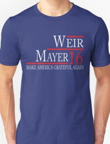 Weir Mayer 2016 Tees/Hoodies/Tanks Unisex T-Shirt