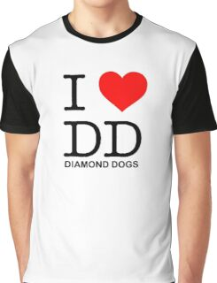 -METAL GEAR SOLID- I Love Diamond Dogs Graphic T-Shirt