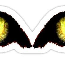 Golden Eye Sticker