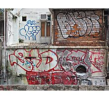 TST Graffiti  Photographic Print