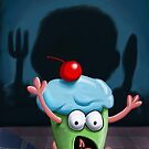 You Can't Hide From The Muffin Man by mdkgraphics