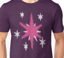 Watercolour Twilight Sparkle Cutie Mark Unisex T-Shirt