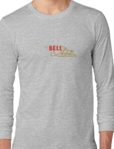 Bell Vintage Aircraft USA Long Sleeve T-Shirt
