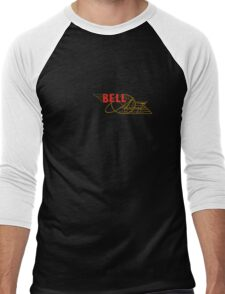 Bell Vintage Aircraft USA Men's Baseball ¾ T-Shirt