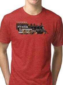 instrument train 2 Tri-blend T-Shirt