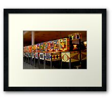 tiny pinball collection Framed Print