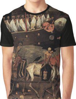 The Death Cart by Pieter Bruegel 1500s Graphic T-Shirt