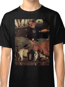 The Death Cart by Pieter Bruegel 1500s Classic T-Shirt