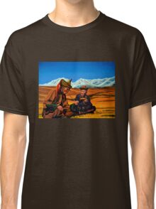 Mongolia Land of the Eternal Blue Sky Classic T-Shirt