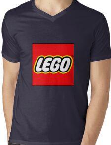 lego logo Mens V-Neck T-Shirt