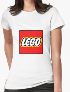 lego logo Womens Fitted T-Shirt