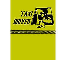 Taxi Driver (black) Photographic Print