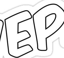 Wepa! (C) Sticker