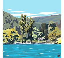 Wilson's Bay, Queenstown by Ira Mitchell-Kirk Photographic Print