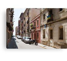 Barceloneta Canvas Print