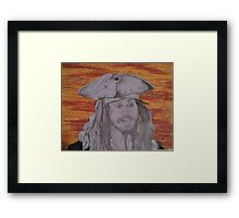 But, Why Is The Rum Gone?! Framed Print