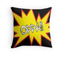 oppa Throw Pillow