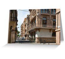 Barceloneta Greeting Card