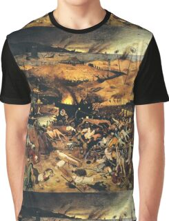 The Triumph of Death by Pieter Bruegel Graphic T-Shirt
