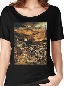 The Triumph of Death by Pieter Bruegel Women's Relaxed Fit T-Shirt