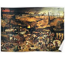 The Triumph of Death by Pieter Bruegel Poster