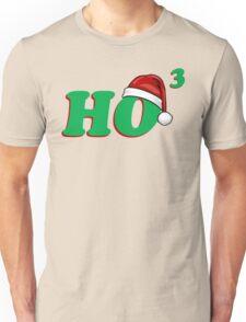 Ho 3 (Cubed) Christmas Humor Unisex T-Shirt