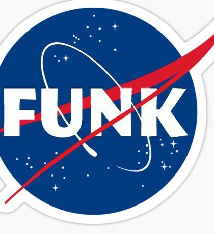 Space Funk Sticker