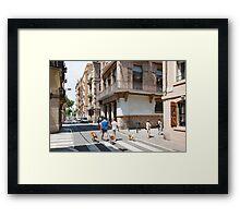 Barceloneta Framed Print