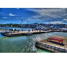 Helsinki Ferries Quayside Photographic Print